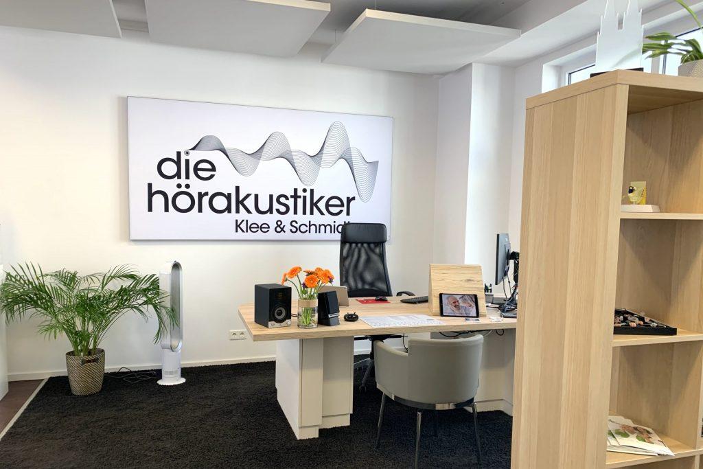 Büroraum Hörakustiker