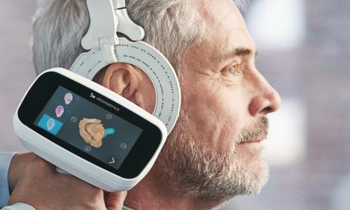 3D Ohr-Vermessung für Hörgeräte